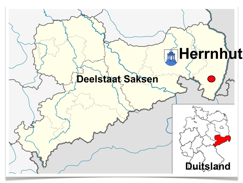 Herrnhut Deelstaat Saksen Duitsland