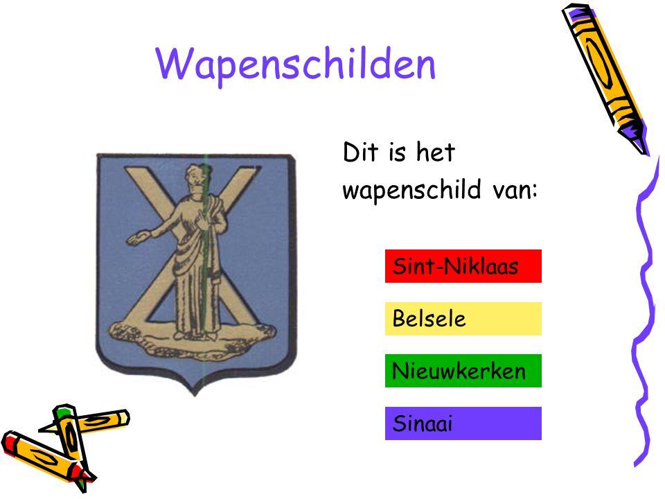 Wapenschilden Dit is het wapenschild van: Sint-Niklaas Belsele