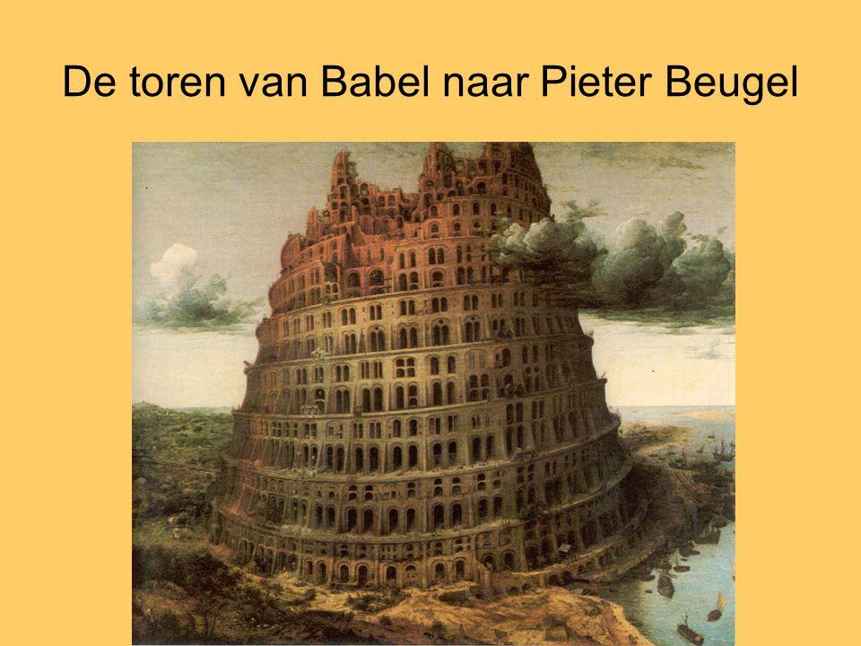 De toren van Babel naar Pieter Beugel