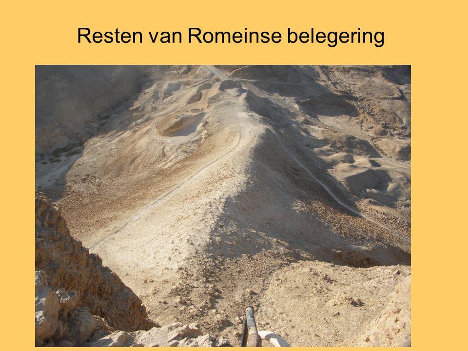 Resten van Romeinse belegering