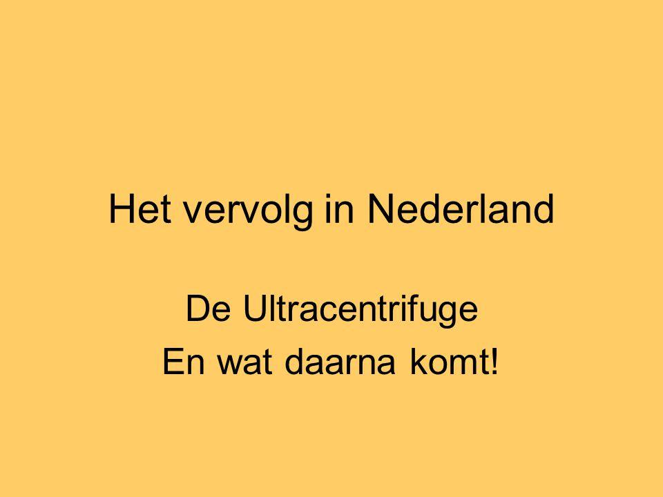 Het vervolg in Nederland