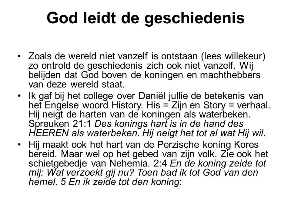 God leidt de geschiedenis