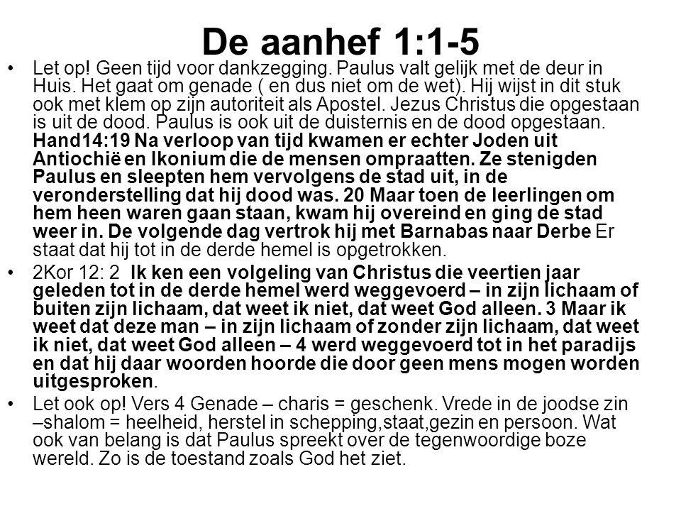 De aanhef 1:1-5