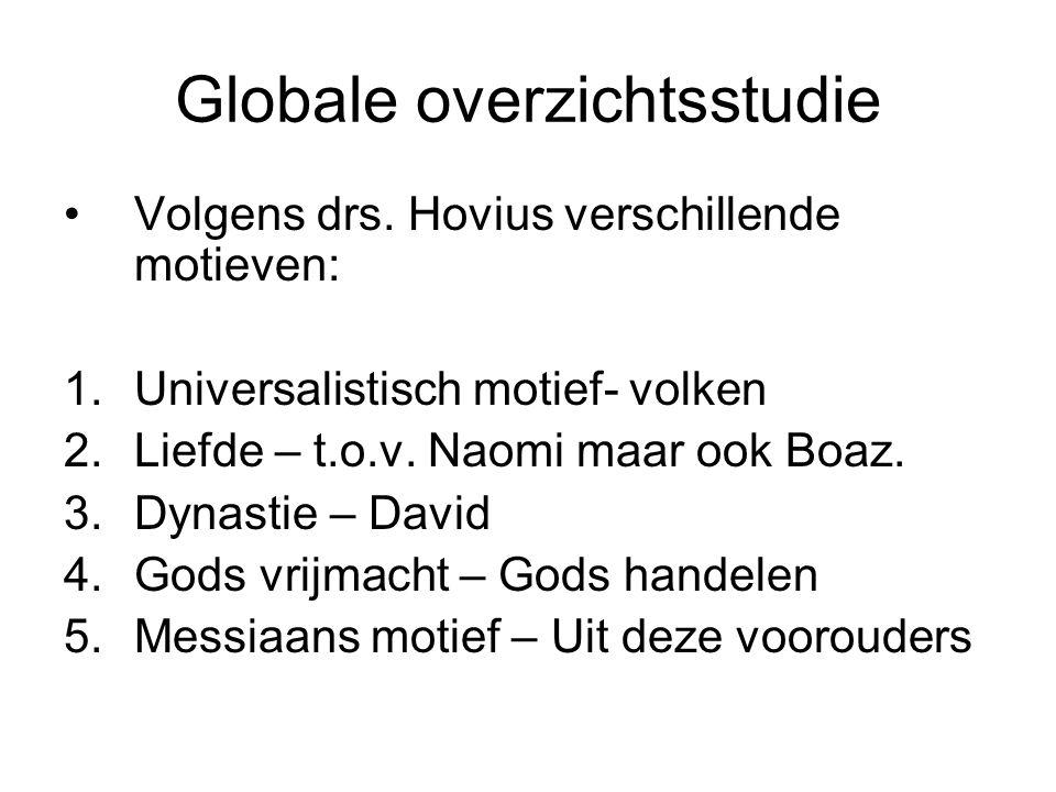 Globale overzichtsstudie