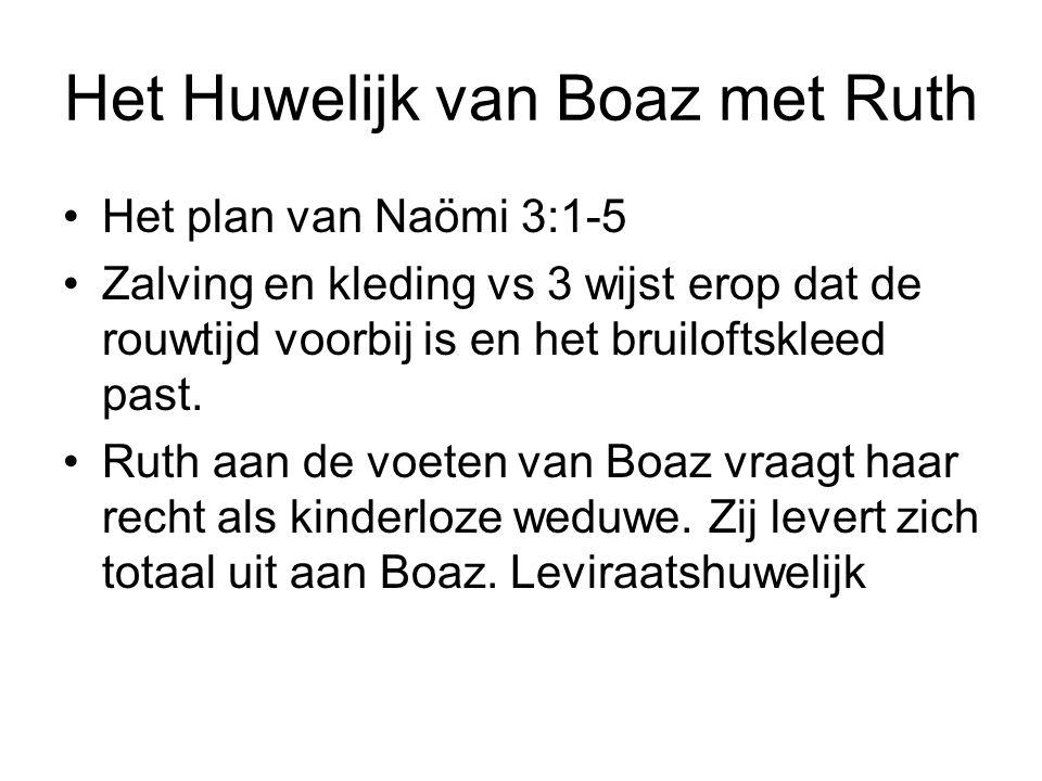 Het Huwelijk van Boaz met Ruth