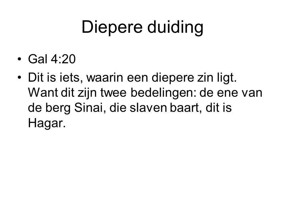 Diepere duiding Gal 4:20.