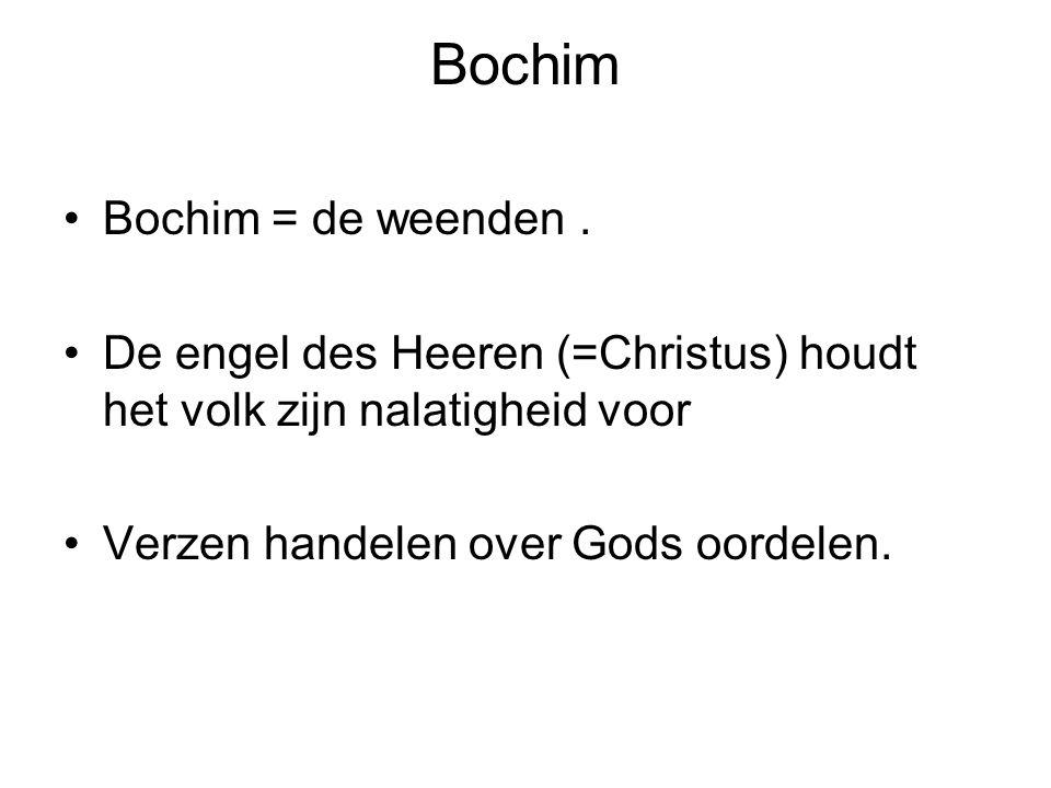 Bochim Bochim = de weenden .