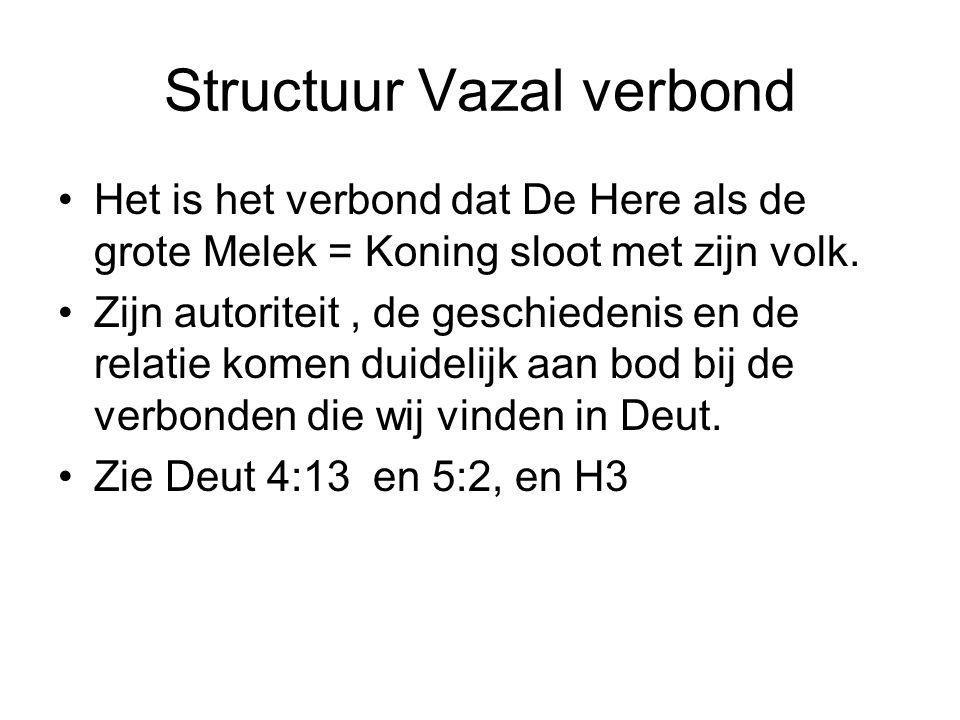 Structuur Vazal verbond