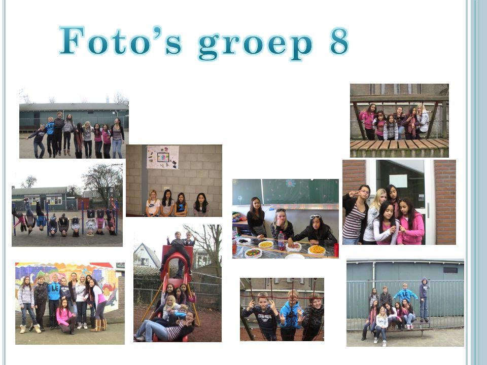 Foto's groep 8