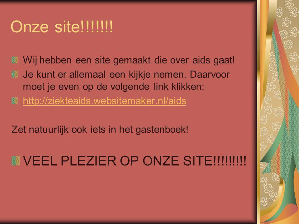 Onze site!!!!!!! VEEL PLEZIER OP ONZE SITE!!!!!!!!!