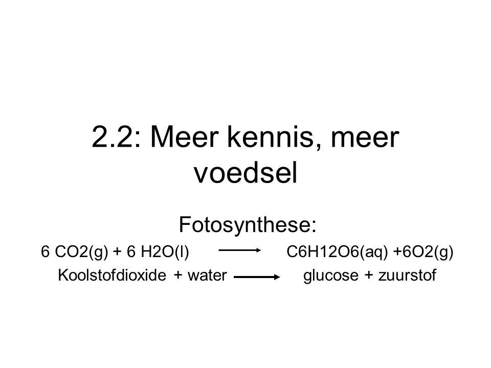 2.2: Meer kennis, meer voedsel