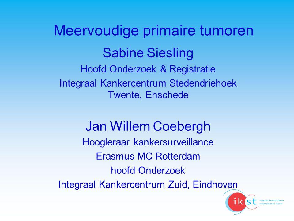 Meervoudige primaire tumoren