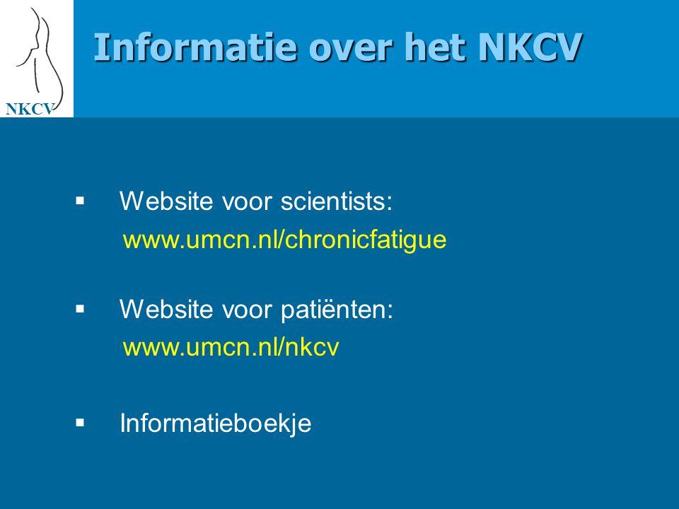 Informatie over het NKCV