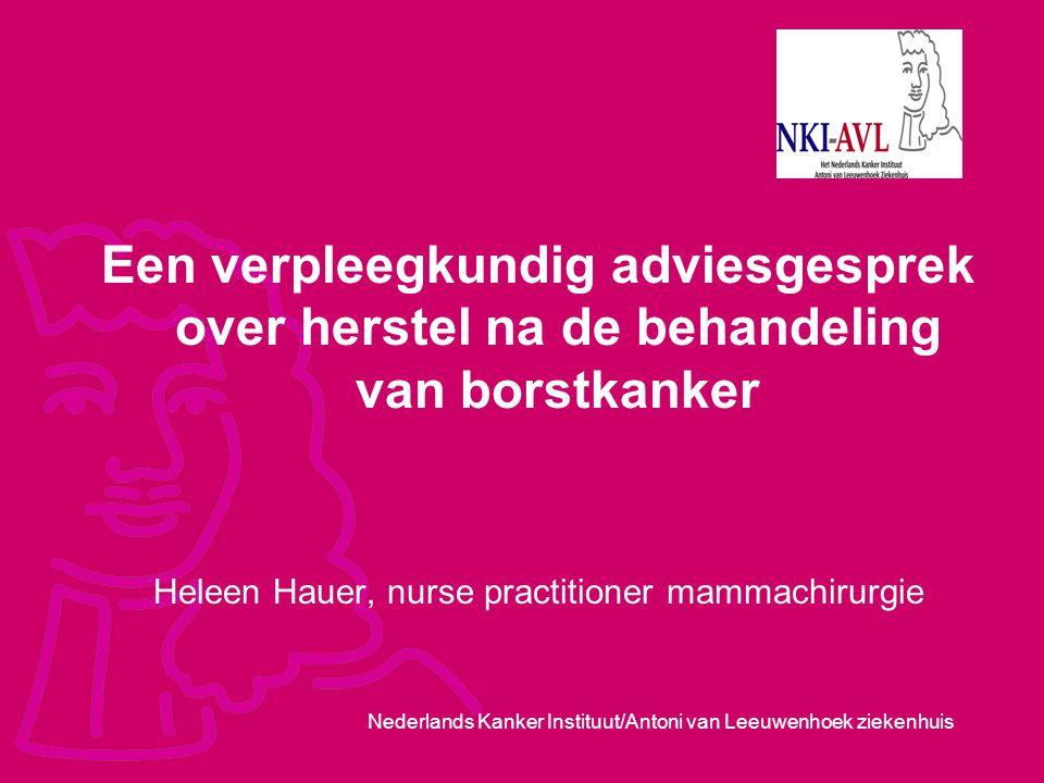 Heleen Hauer, nurse practitioner mammachirurgie