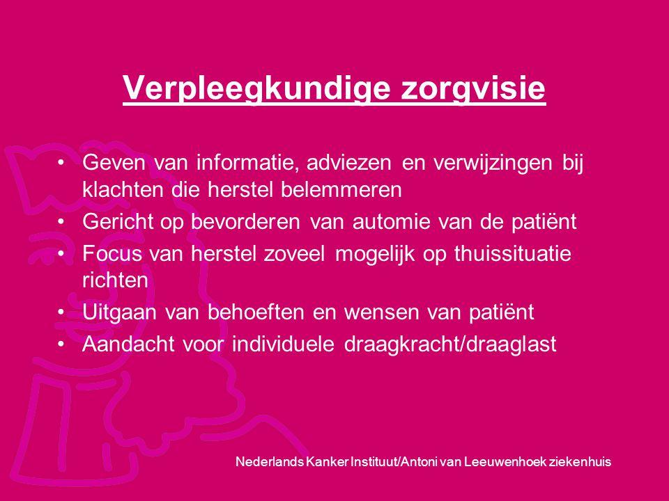 Verpleegkundige zorgvisie
