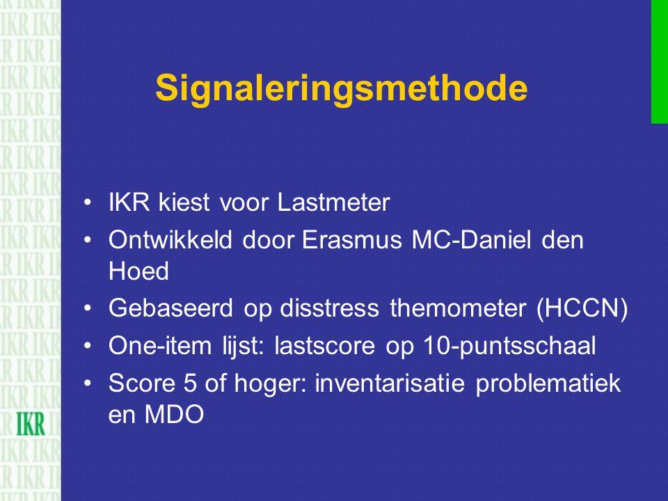 Signaleringsmethode IKR kiest voor Lastmeter