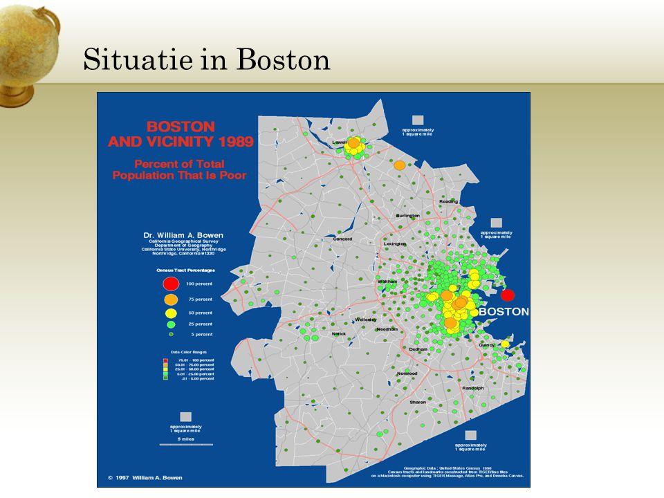 Situatie in Boston Voeg een afbeelding in als illustratie van een onderdeel van de economie van je land.