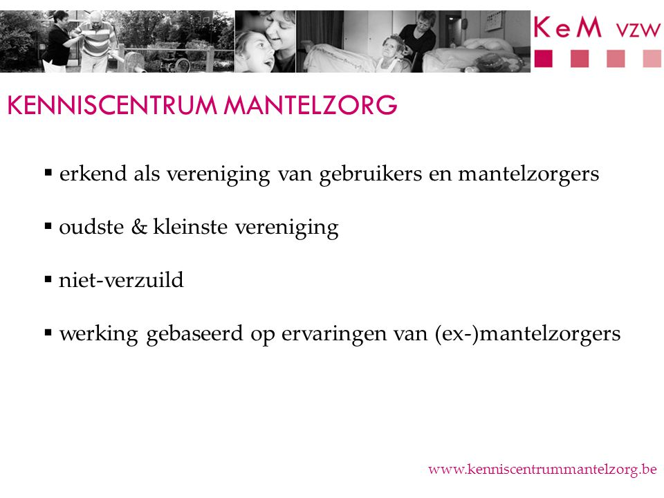 KENNISCENTRUM MANTELZORG