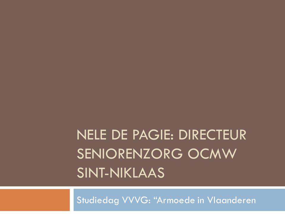 Nele De Pagie: directeur seniorenzorg ocmw sint-niklaas