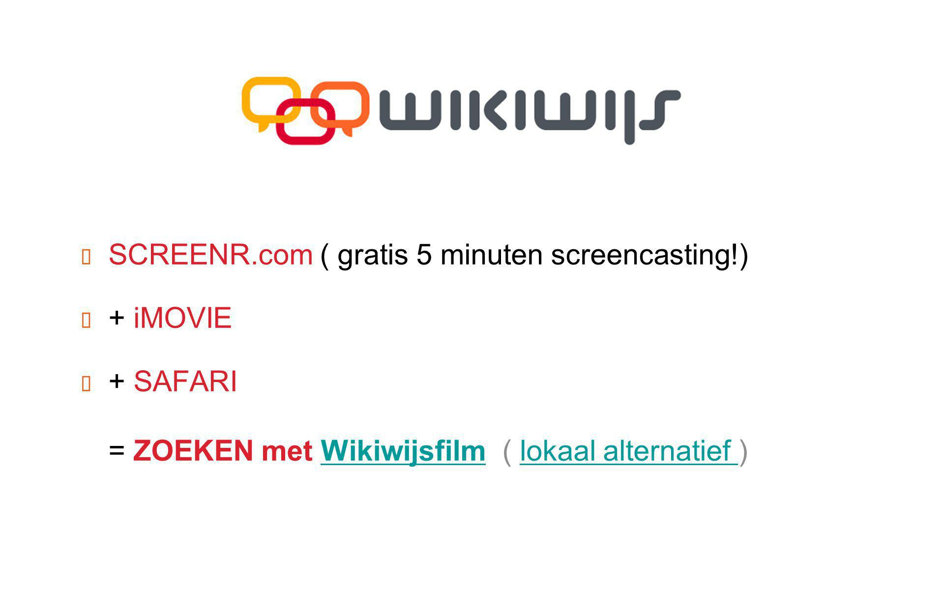 SCREENR.com ( gratis 5 minuten screencasting!)