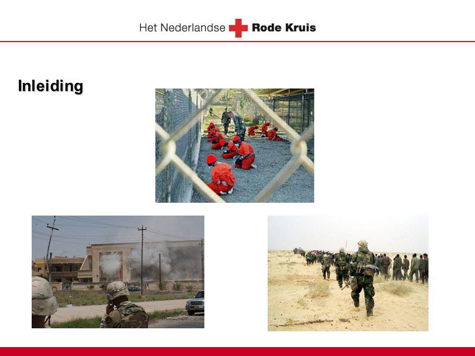 Inleiding Vragen naar: - Zouden er regels gelden tijdens een oorlog