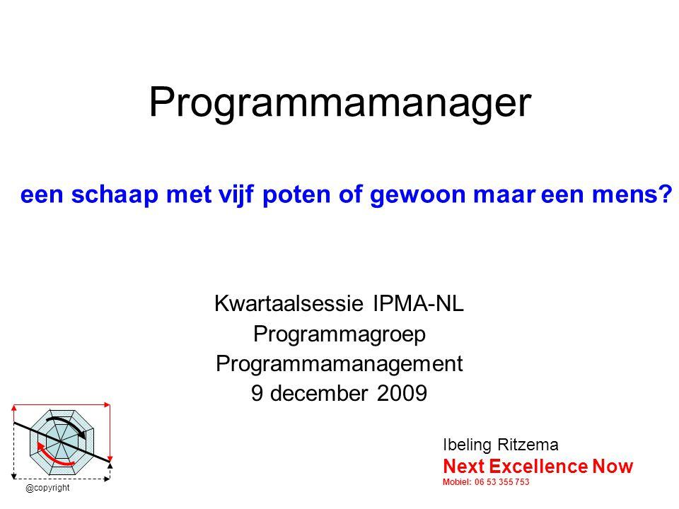 Kwartaalsessie IPMA-NL