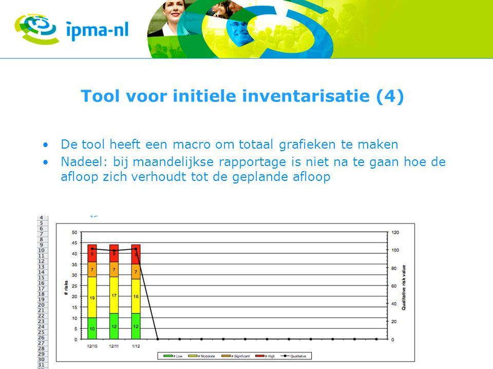 Tool voor initiele inventarisatie (4)