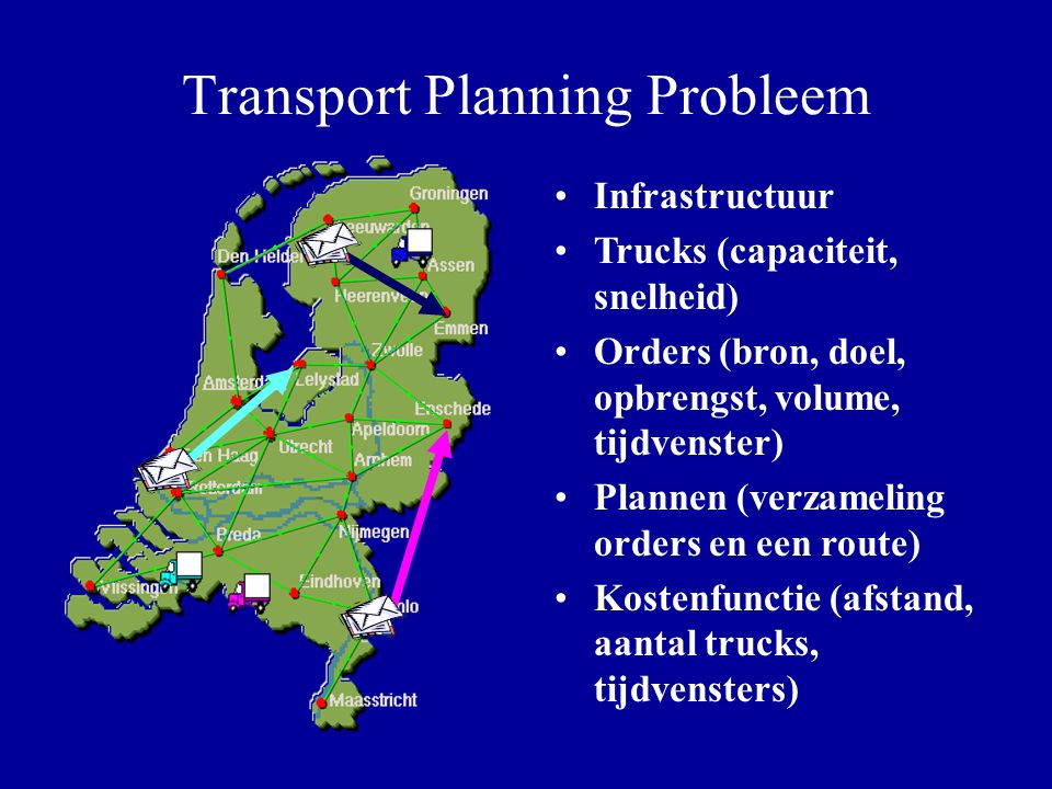 Transport Planning Probleem