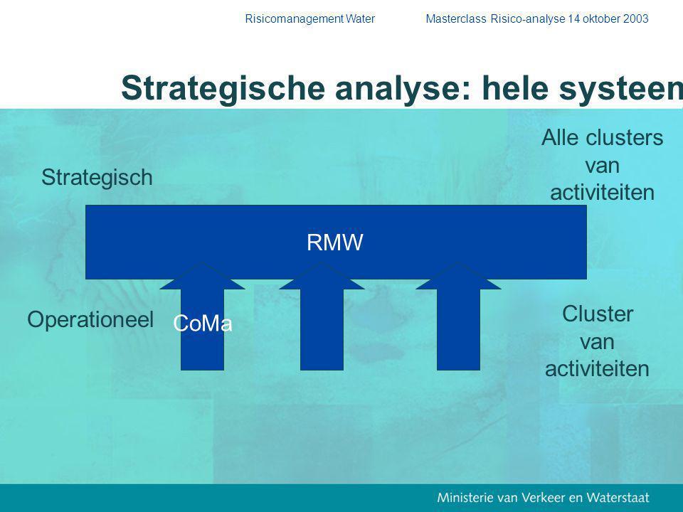 Strategische analyse: hele systeem