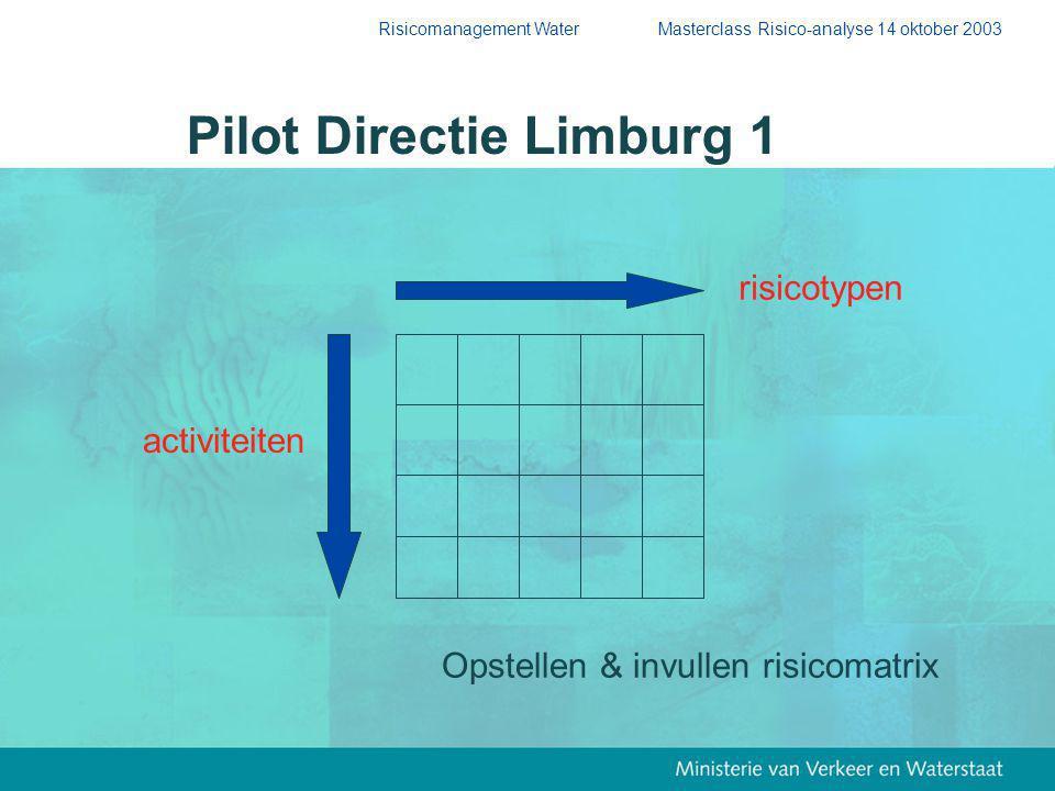 Pilot Directie Limburg 1