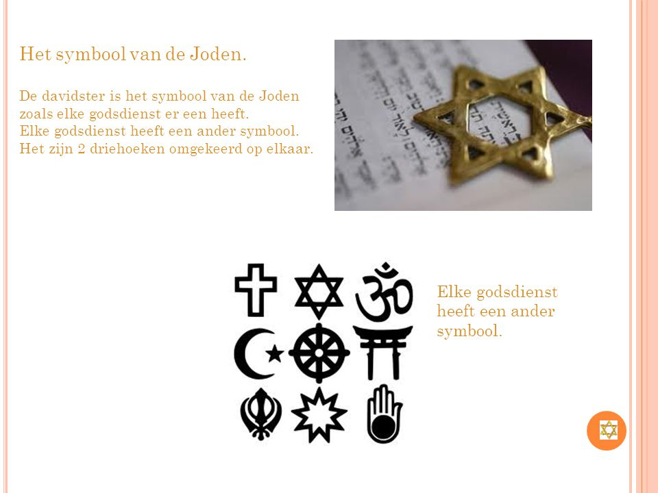 Het symbool van de Joden.