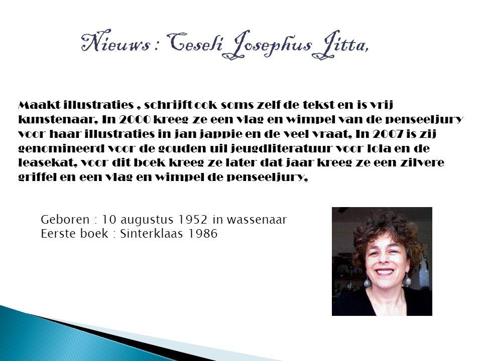 Nieuws : Ceseli Josephus Jitta,