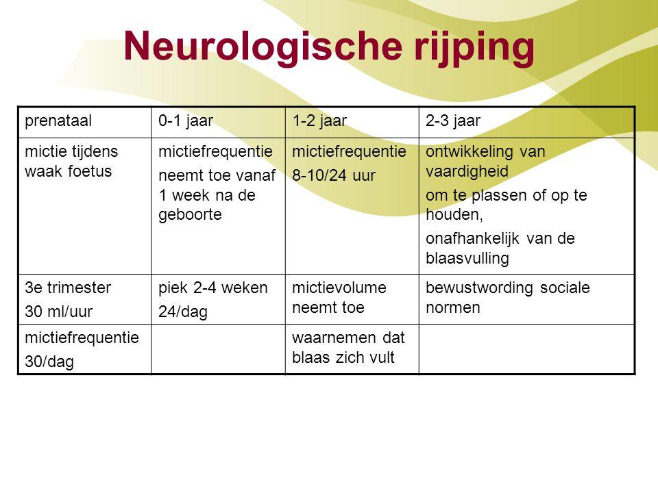 Neurologische rijping