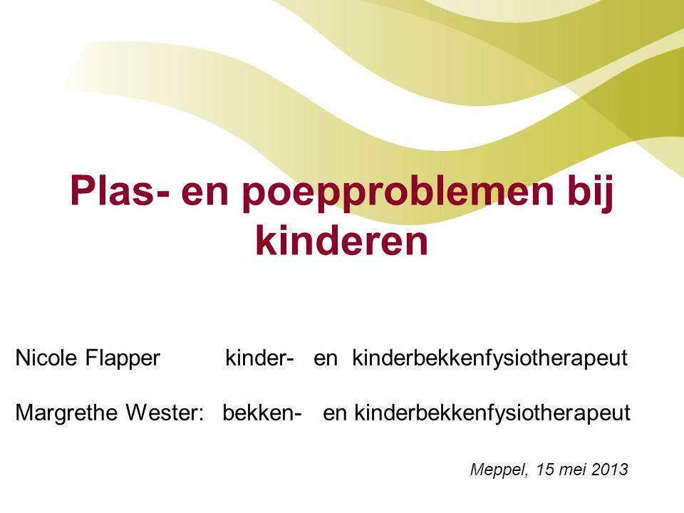 Plas- en poepproblemen bij kinderen