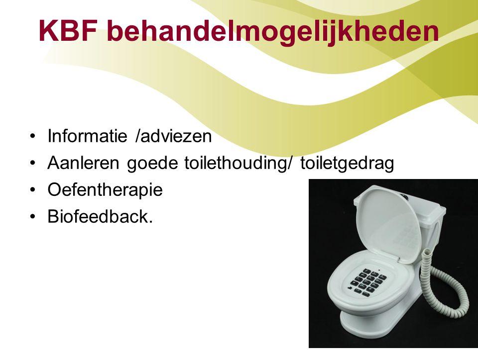 KBF behandelmogelijkheden