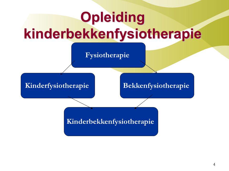 Opleiding kinderbekkenfysiotherapie