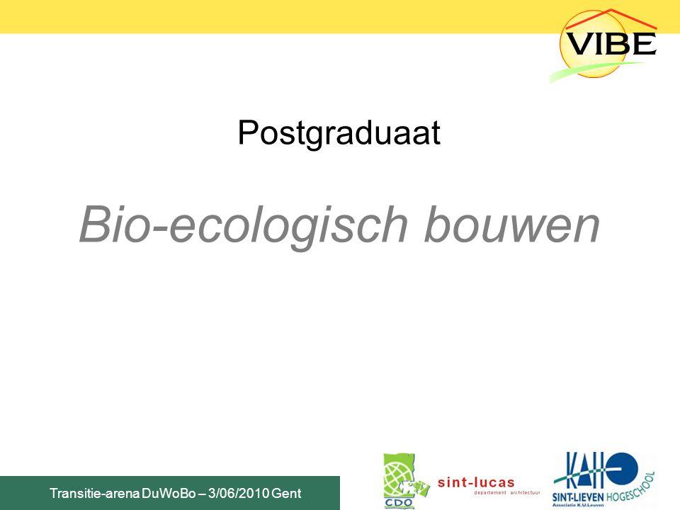 Bio-ecologisch bouwen