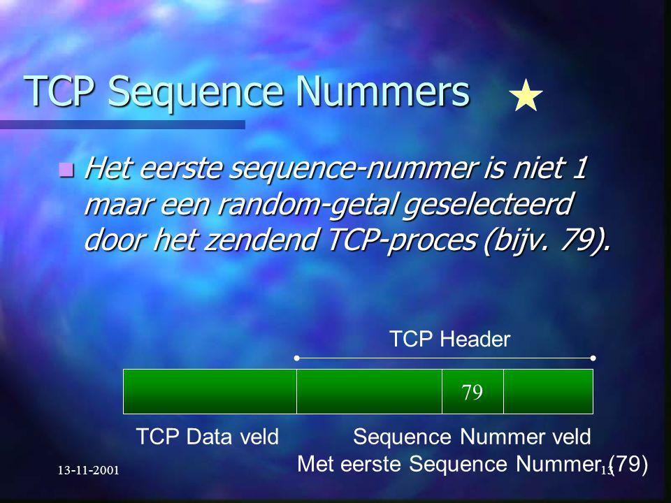 Met eerste Sequence Nummer (79)