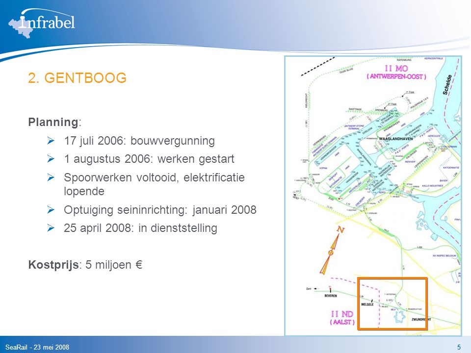 2. GENTBOOG Planning: 17 juli 2006: bouwvergunning