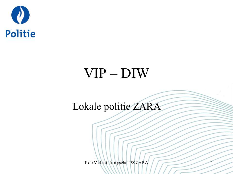 Rob Verbist - korpschef PZ ZARA