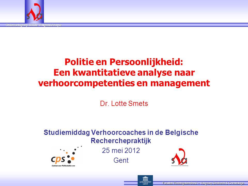 Studiemiddag Verhoorcoaches in de Belgische Recherchepraktijk