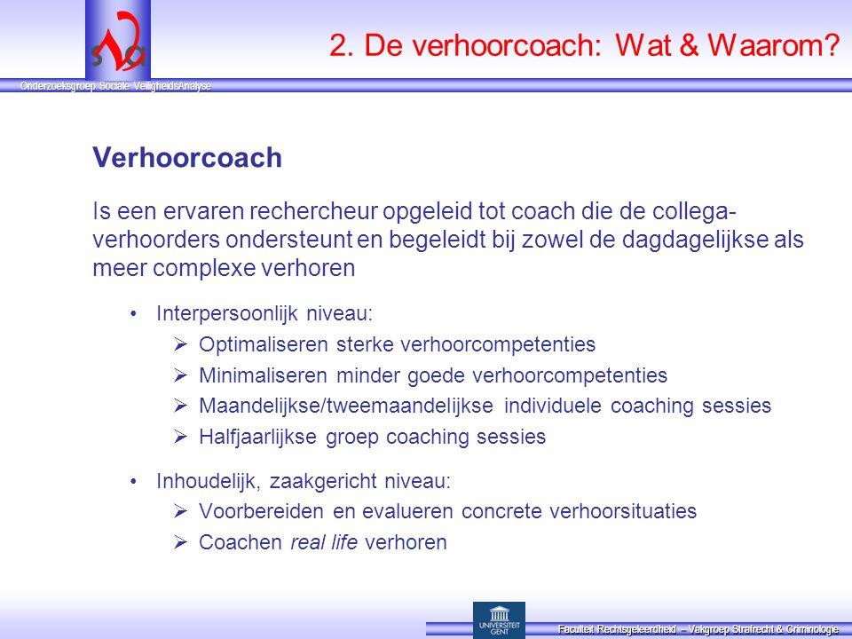 2. De verhoorcoach: Wat & Waarom