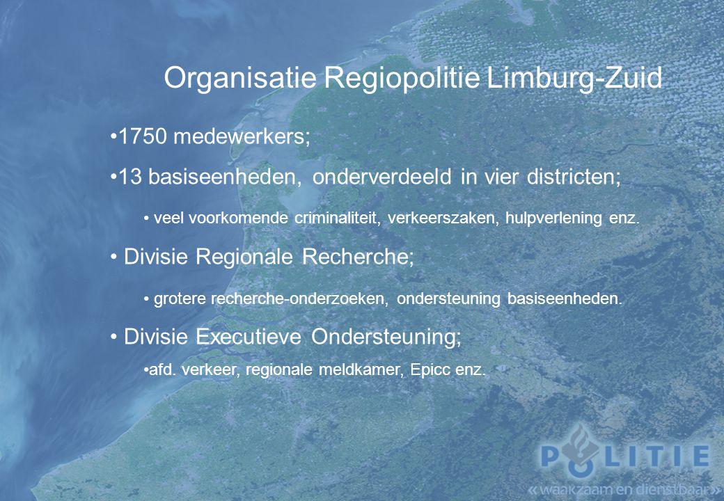 Organisatie Regiopolitie Limburg-Zuid
