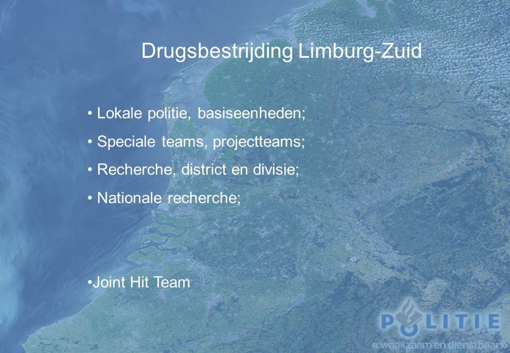 Drugsbestrijding Limburg-Zuid