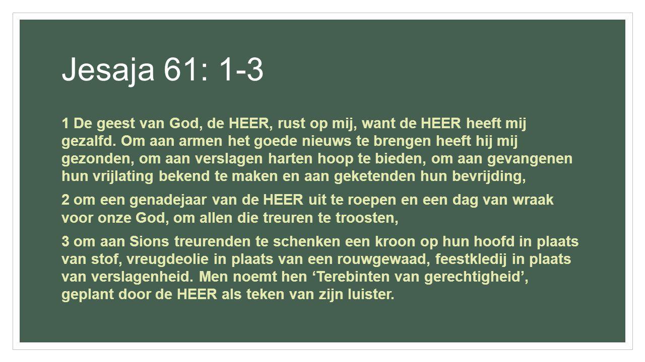 Jesaja 61: 1-3