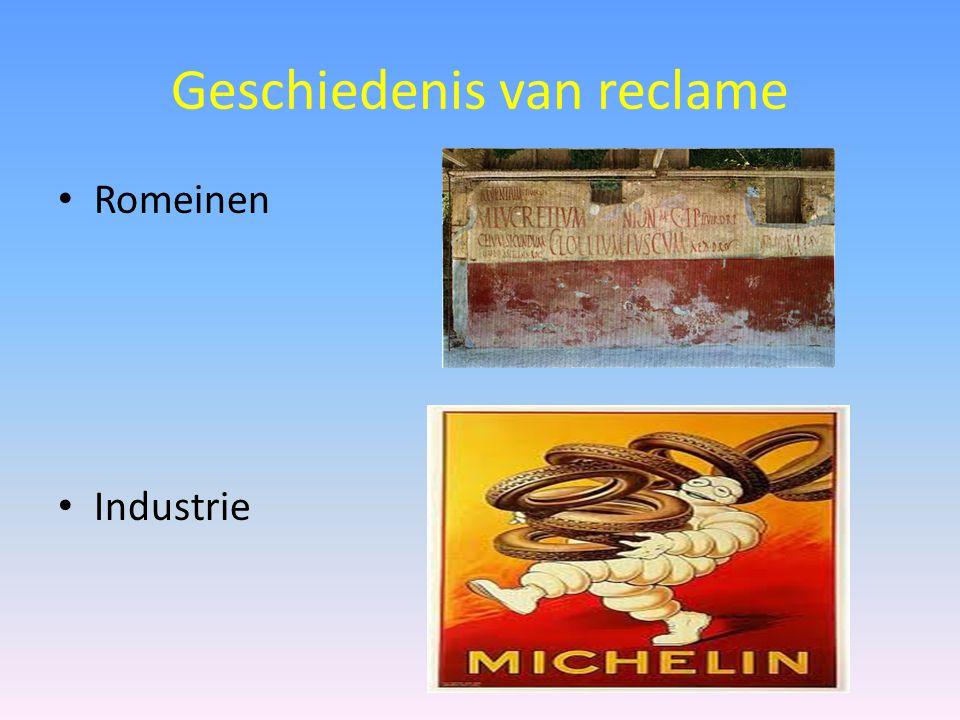 Geschiedenis van reclame