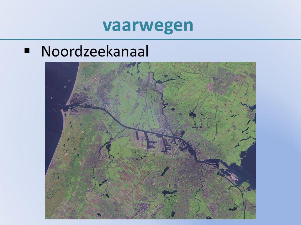 vaarwegen Noordzeekanaal