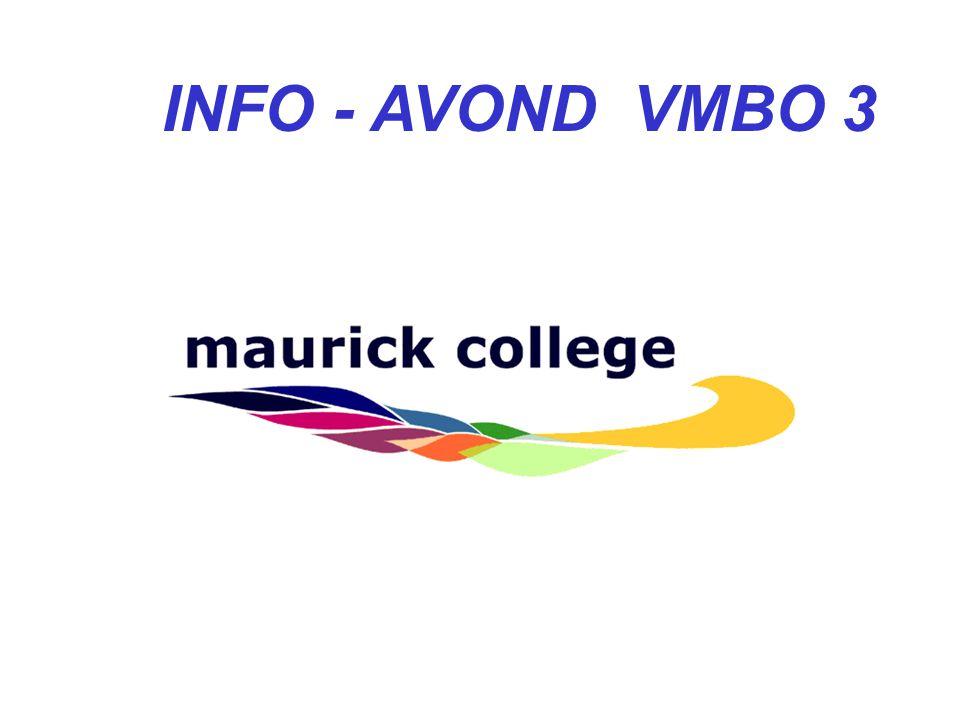 INFO - AVOND VMBO 3