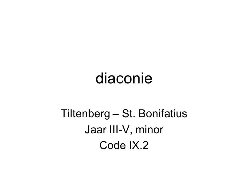 Tiltenberg – St. Bonifatius Jaar III-V, minor Code IX.2