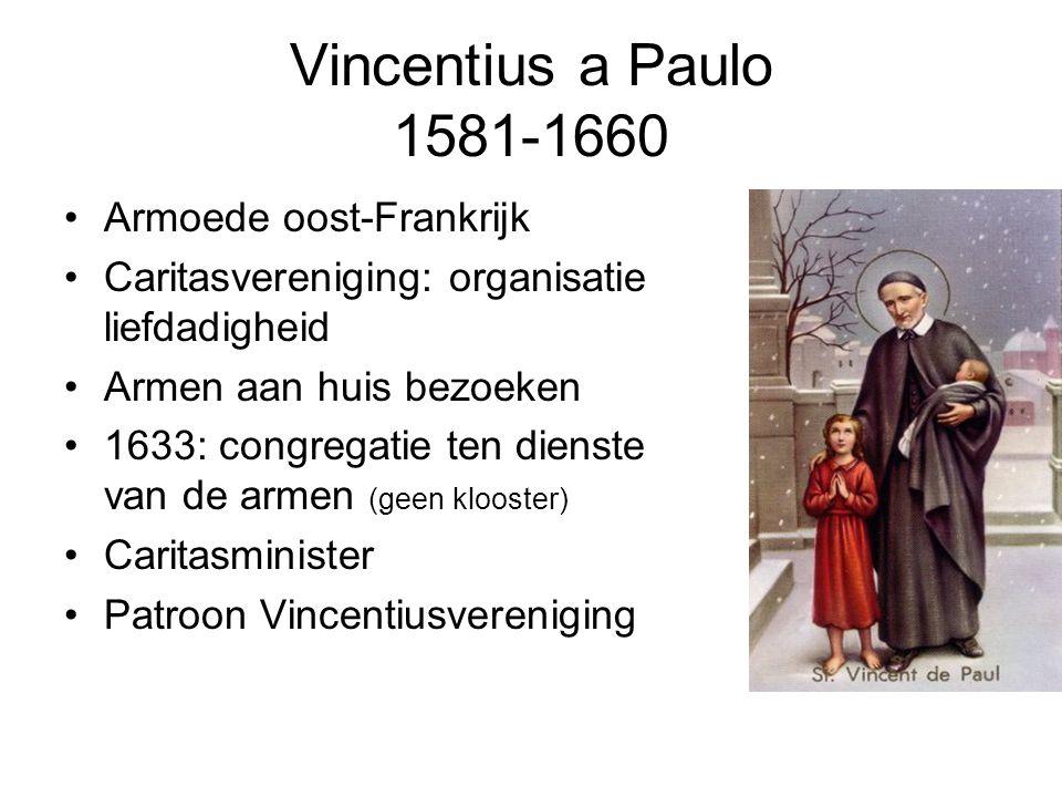 Vincentius a Paulo 1581-1660 Armoede oost-Frankrijk